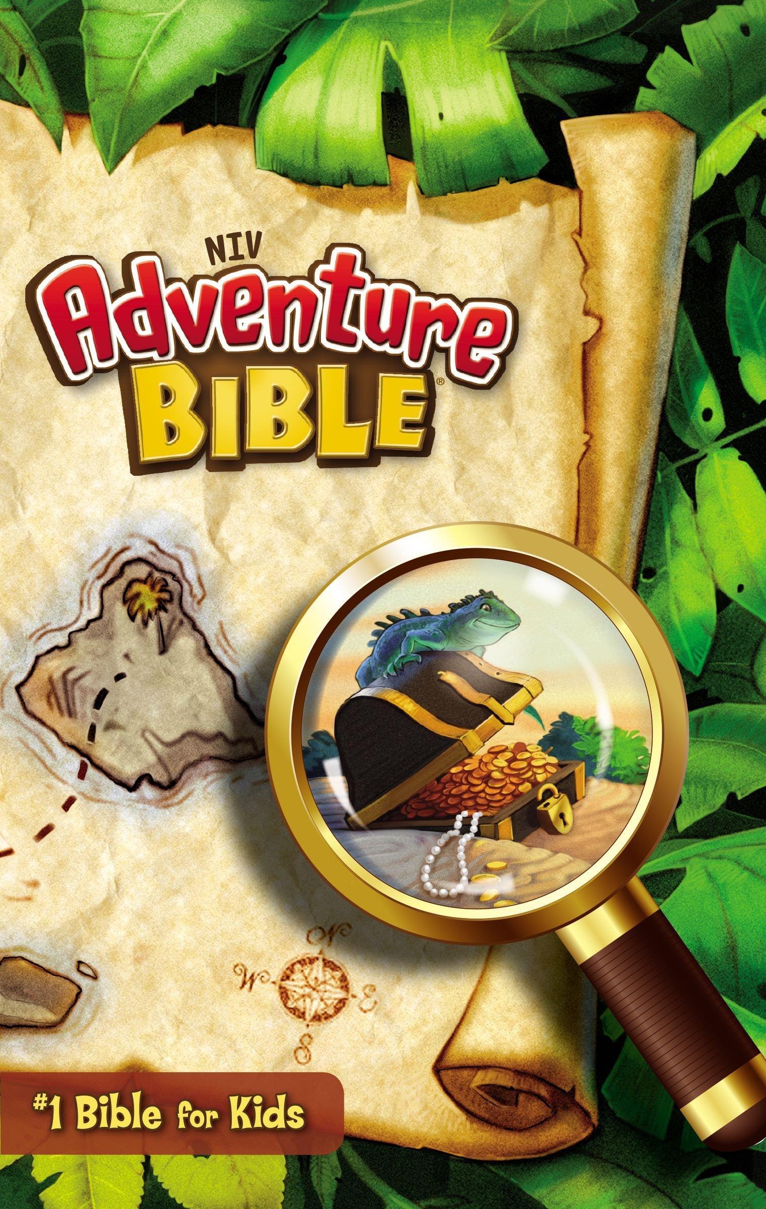 NIV, Adventure Bible, Paperback, Full Color: Zondervan, Lawrence O.  Richards: 9780310727484: Amazon.com: Books
