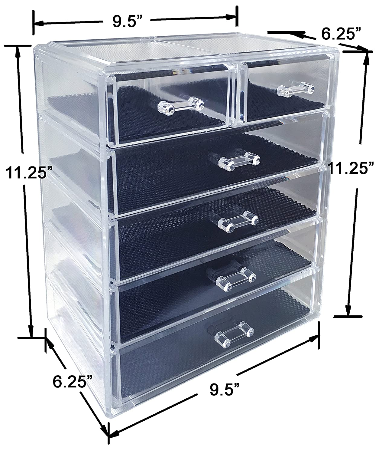 Amazoncom Sodynee Cosmetics Makeup and Jewelry Storage Organizer