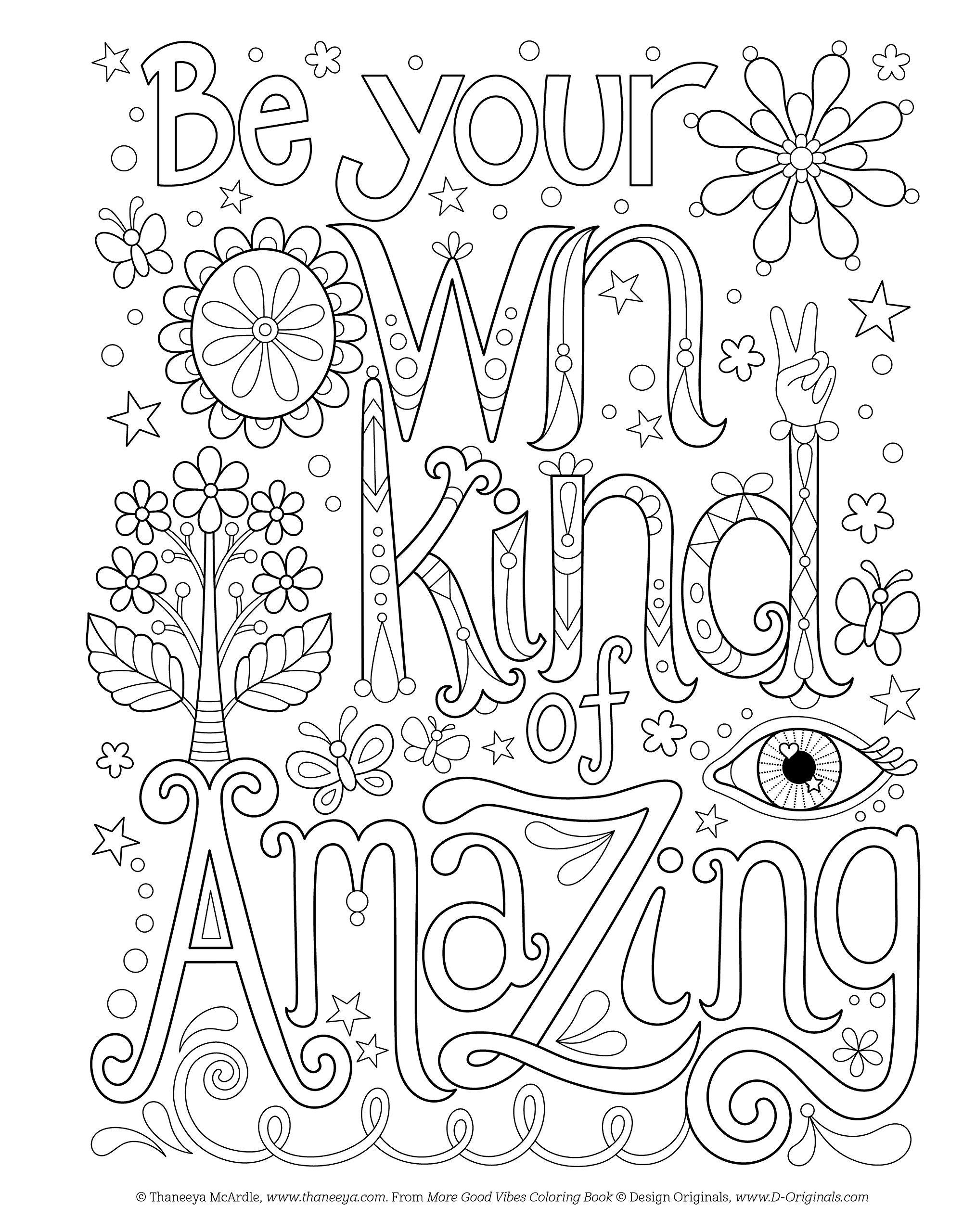 Amazon.com: More Good Vibes Coloring Book (Coloring is Fun) (Design ...
