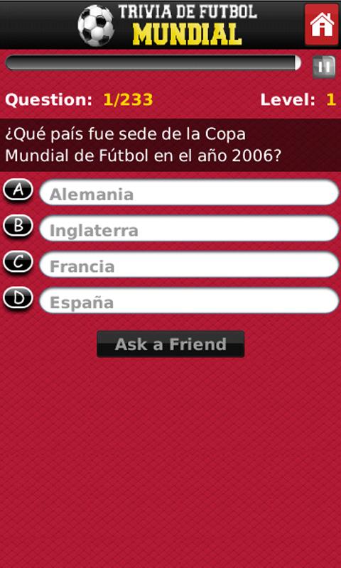 Trivia de Futbol Mundial: Amazon.es: Appstore para Android