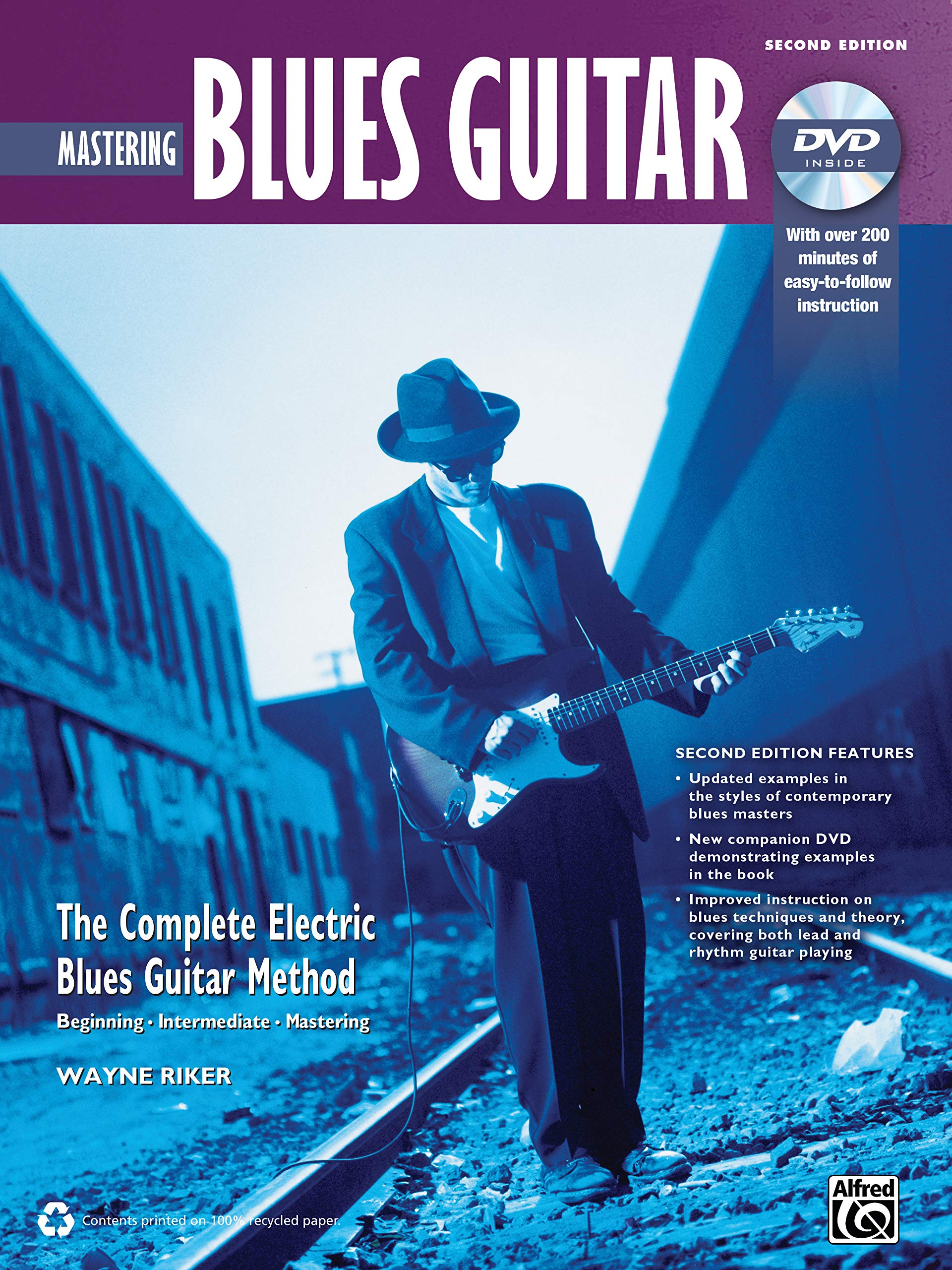 Complete Blues Guitar Method: Mastering Blues Guitar, Book & DVD ...