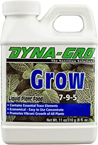 Dyna-Gro GRO-008 Plant Food, 8 oz