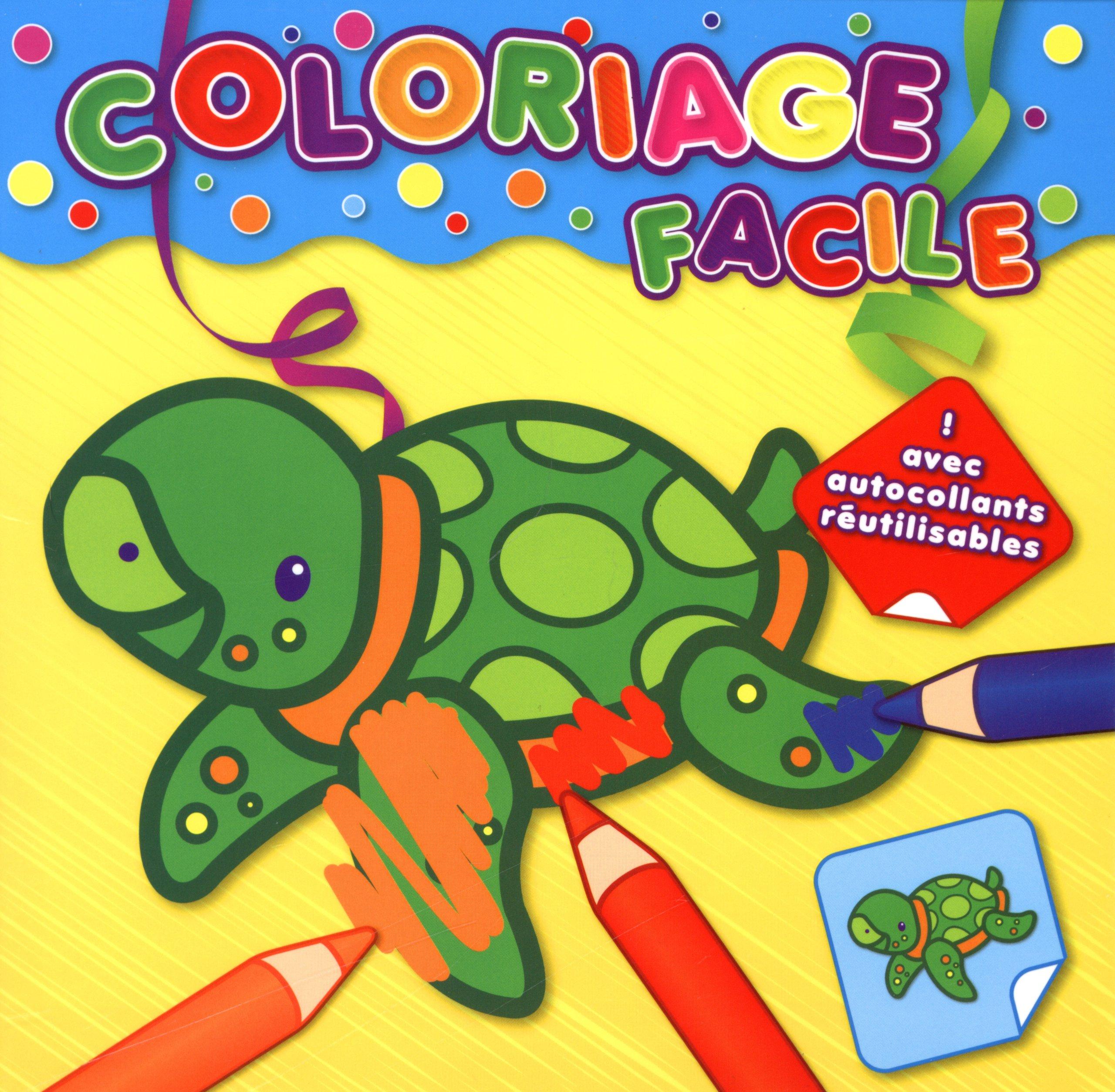 Tortue Coloriage Facile 9789461517715 Amazon Com Books