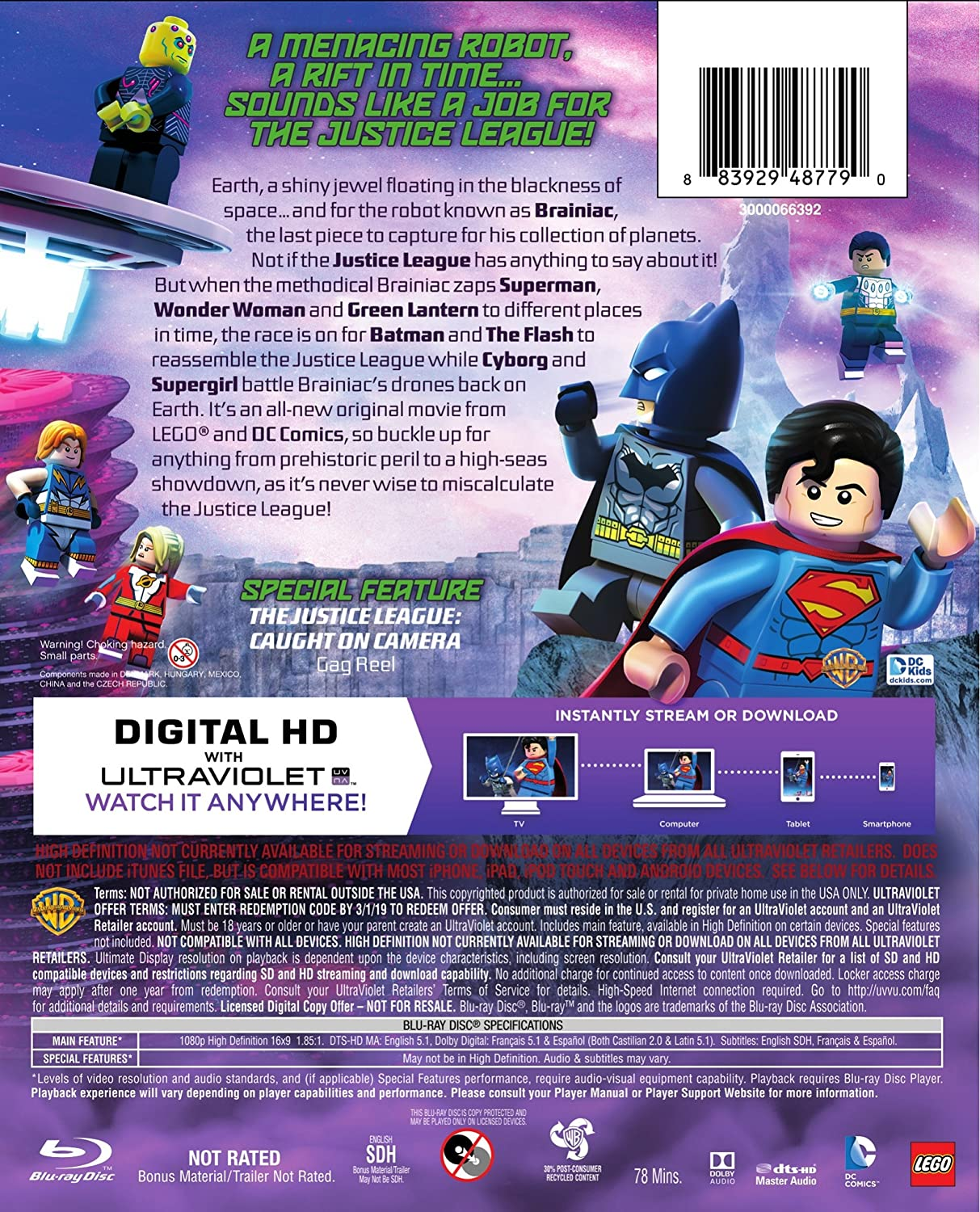 Amazon com: LEGO DC Comics Super Heroes: Justice League