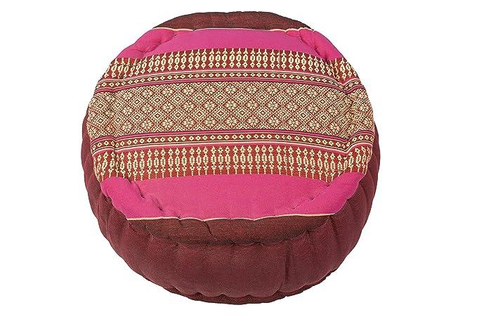 Amazon.com: Kapok Dreams Zafu - Cojín de meditación redondo ...