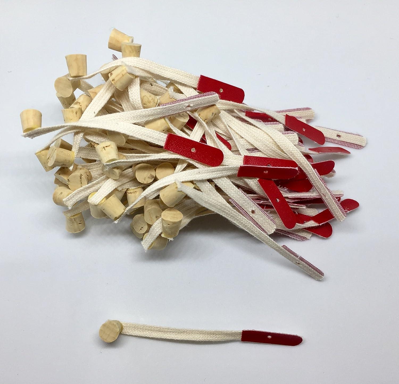 Gemm Piano Bridle Straps Small Cork Set of 12