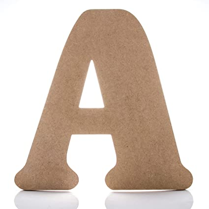 12 wooden letter a large wall decor letters