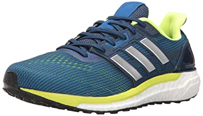 adidas Performance Men's Supernova M Running Shoe, BlueMetallicSilverElectricity,
