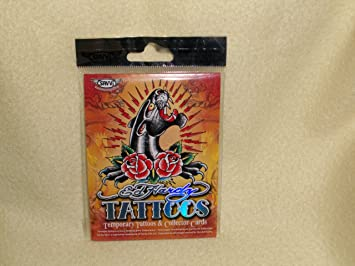 Amazon.com : Ed Hardy Temporary Tattoos & Collector Cards ...