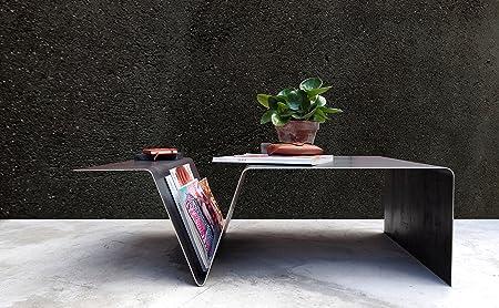 Coffee Table Magazine Table Low Level Table Steel Handmade