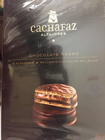 Cachafaz Alfajor- Dark Chocolate