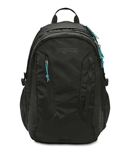 267f67b3bdd3 Amazon.com  JanSport Women s Agave Backpack Black  Sports   Outdoors