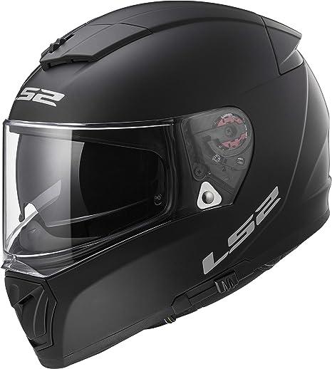 LS2 Helmets Unisex-Adult Full Face Helmet (Matte Black, Medium) (Breaker)