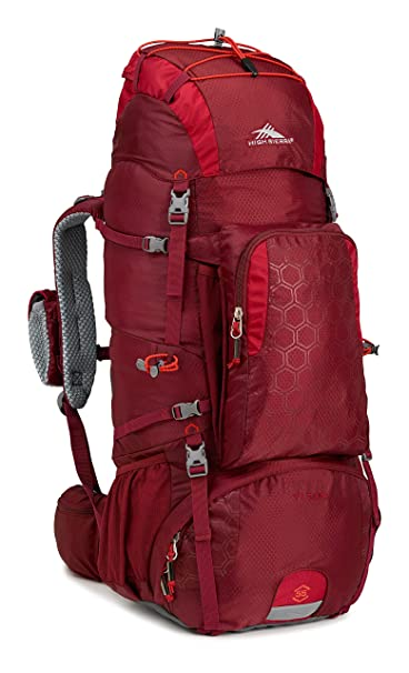 3. High sierra Tech 2 Series Titan 55 Internal Frame Pack
