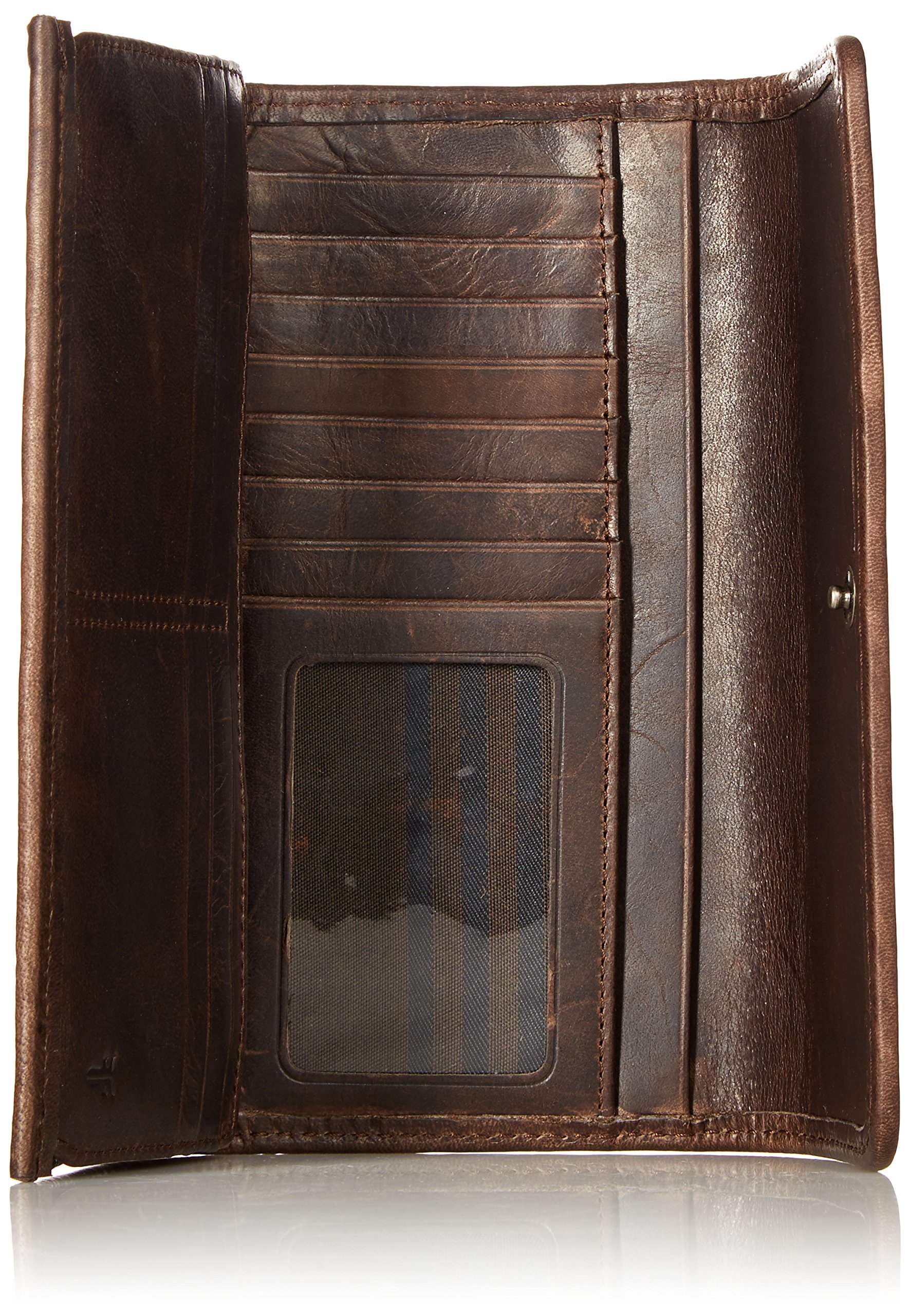 Melissa Continental Snap Wallet, Slate by FRYE (Image #4)