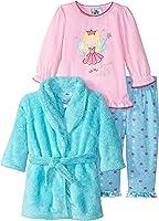 4f3d2976f4f7 Amazon.com  Baby Bunz Baby Girls  3 Pieces Unicorn Dreams Robe and ...