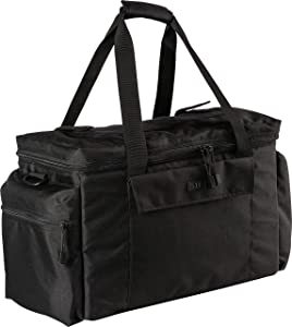 5.11 Tactical Basic Patrol Bag 37 Liters, Adjustable/Removable Shoulder Strap, Style 56523, Black
