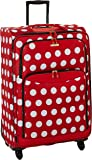 American Tourister Disney Minnie Mouse Polka Dot Softside Spinner 28, Multi, One Size