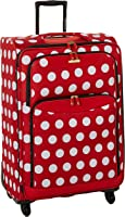 American Tourister Disney Minnie Mouse Polka Dot Softside Spinner 28