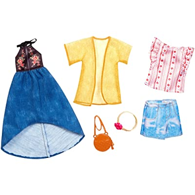 Barbie Urban Boho Fashion, 2 Pack: Toys & Games