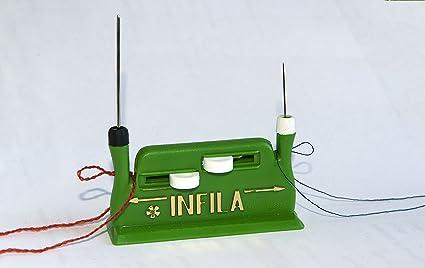 Parodi & Parodi - Enhebrador automático para Agujas Gruesas y Finas, para máquina de Coser