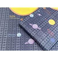 eVincE Gift Wrapping Paper Kids birthday theme party of Solar System | Enjoy planets on wrapped gifts | set of 25 sheets…