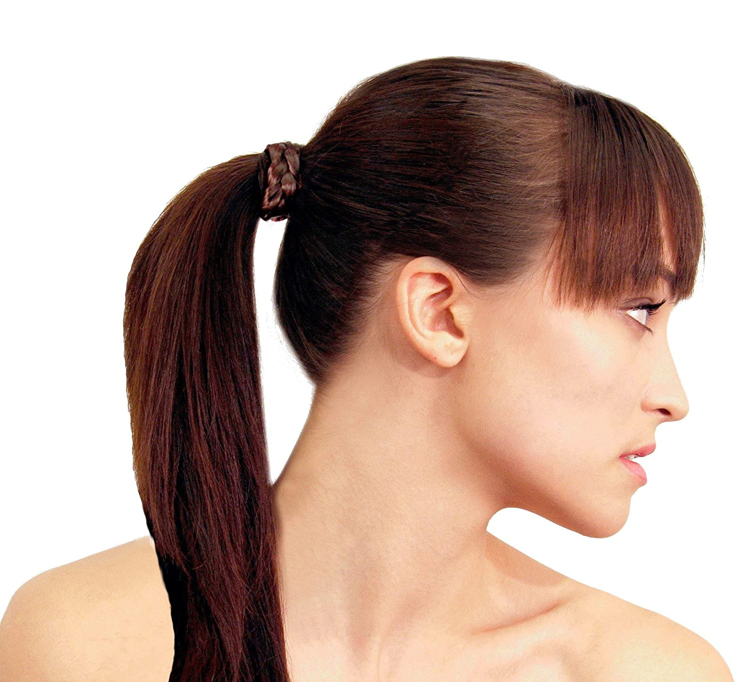 Women Lady 2013 Faux Wig Ponytail Elastic Rope Head Hair Band Holder Accessory