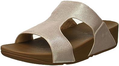 a7a1f4666ce6d7 FitFlop Women s H-BAR SHIMMERLIZARD Sandal