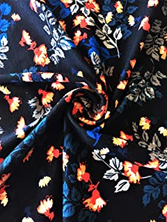 ee62a06afe3 Cotton Lycra 4 Way Stretch Fabric | Dressmaking Material | Prints | Same  Day Dispatch | Sold by…