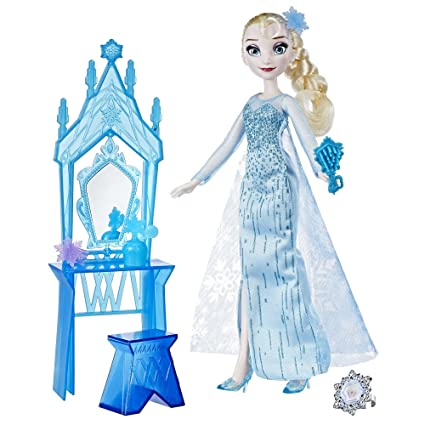 Amazon.com: Disney Frozen Elsa y Anna Coronación vanidad ...