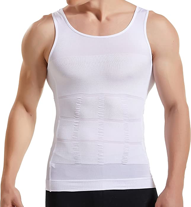 HANERDUN Mens Body Shaper Slimming Shirt Compression Vest Elastic Slim Shapewear - 10146677 , B013BDPU2K , 285_B013BDPU2K , 525659 , HANERDUN-Mens-Body-Shaper-Slimming-Shirt-Compression-Vest-Elastic-Slim-Shapewear-285_B013BDPU2K , fado.vn , HANERDUN Mens Body Shaper Slimming Shirt Compression Vest Elastic Slim Shapewear