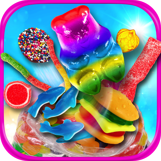 Amazon.com: Gummy Candy Maker - Cooking Games & Kids Chocolate Desserts  FREE!: Appstore for Android