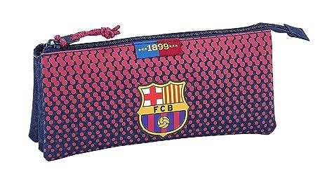 Safta Estuche Escolar FC Barcelona Corporativa Oficial, 220x30x100mm