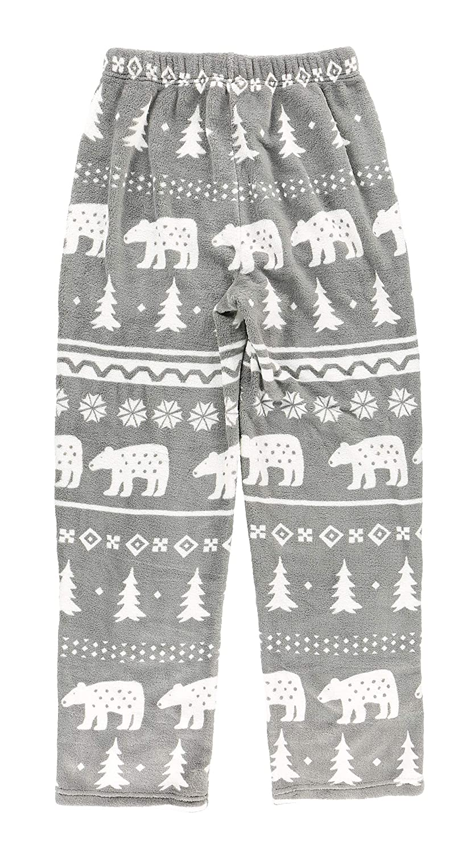 Mens Fleece Pajama Pants Bottom by LazyOne Pajama Bottom for Men