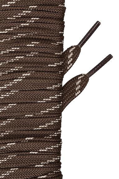 Mountain Warehouse El cargador Textured redondo ata - el 150cm - los cordones Textured redondos del zapato, cordones durables del amaestrador, ajustes 10 cordones Marrón Talla única