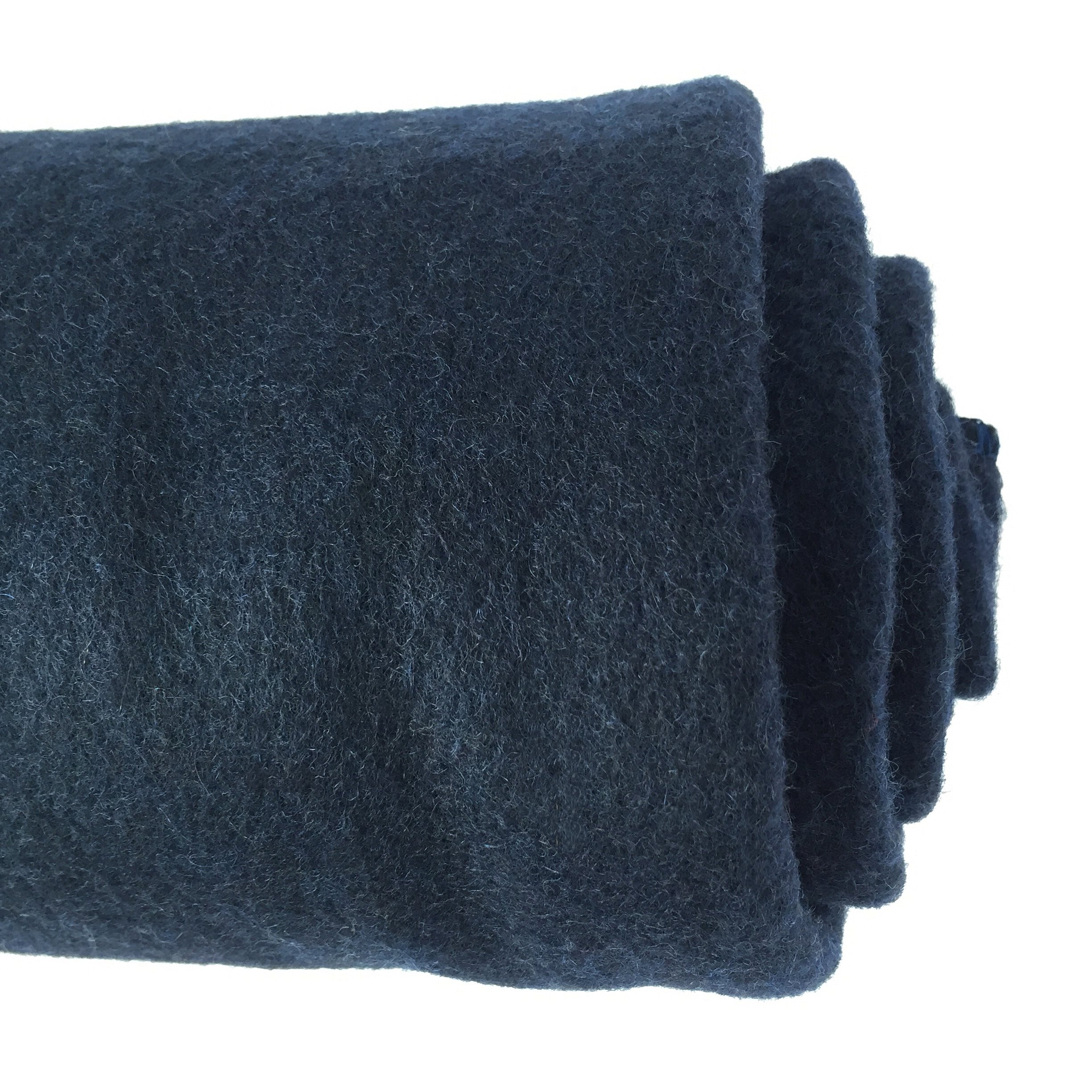 EKTOS 100% Wool Blanket, Navy Blue, Warm & Heavy 5.5 lbs, Large Washable 66''x90'' Size, Perfect for Outdoor Camping, Survival & Emergency Preparedness Use by EKTOS (Image #7)