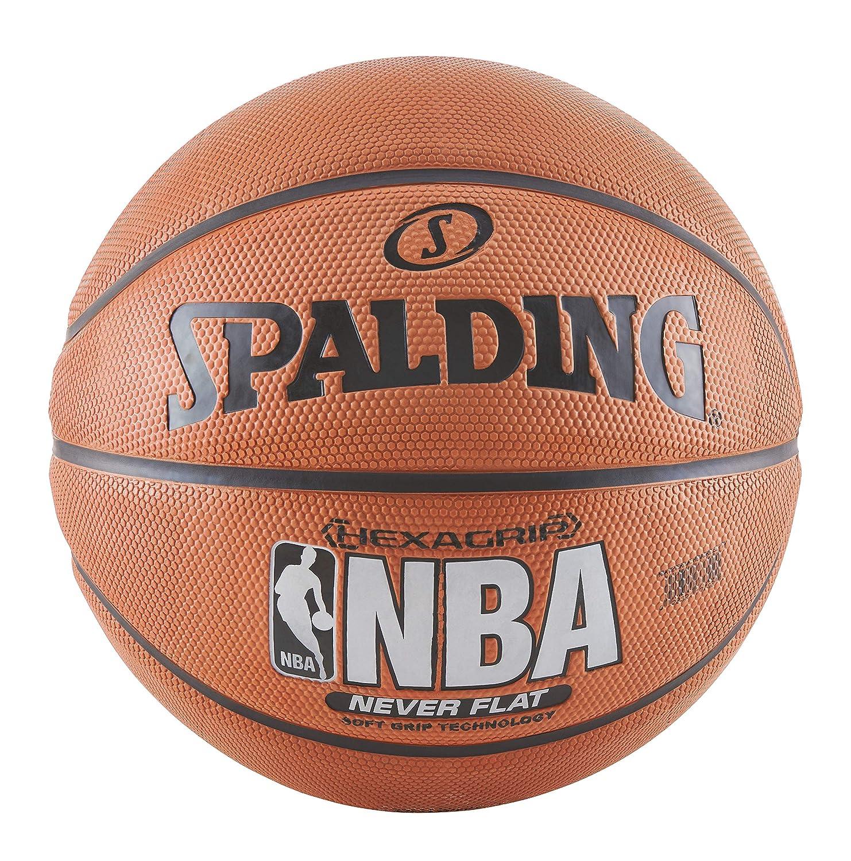 Spalding NeverFlat Suave Agarre Interior/al Aire Libre Baloncesto ...