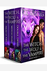 The Witch, The Wolf and The Vampire, Books 1 - 3: Boxset Kindle Edition