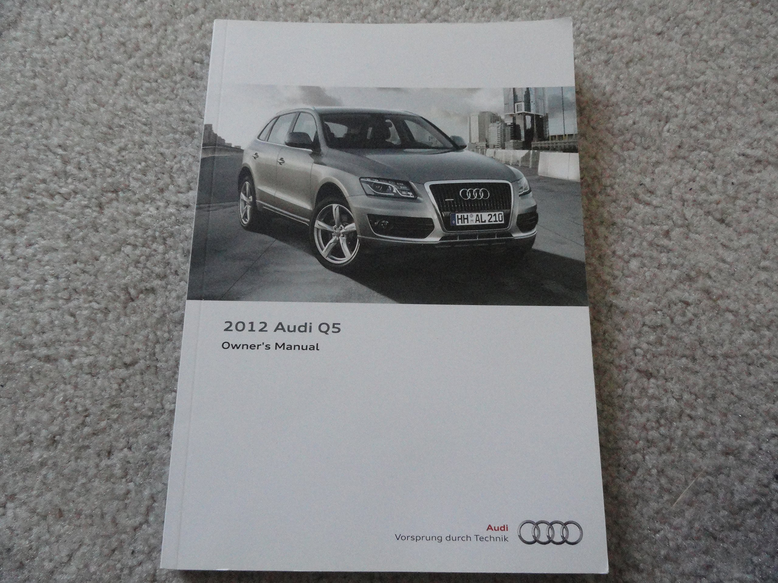 2012 Audi Q5 Owners Manual Guide Book Audi Amazoncom Books