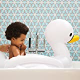 Munchkin White Hot Inflatable Safety Swan Tub