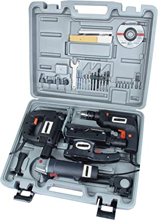 Mannesmann - M12555-4 piezas Juego de aparatos electrónicos: Amazon.es: Bricolaje y herramientas