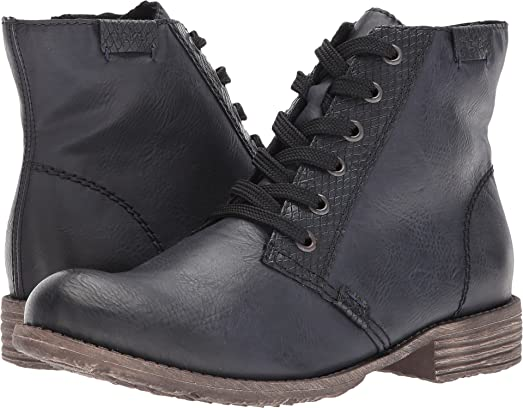 Womens L.Bootees Nero/oldsilver
