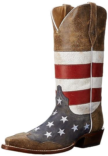 60373f49348 Roper Men's American Flag Western Boot