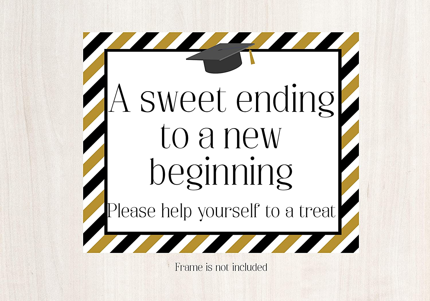 Sweet Ending To A New Beginning Graduation Positive Quotes