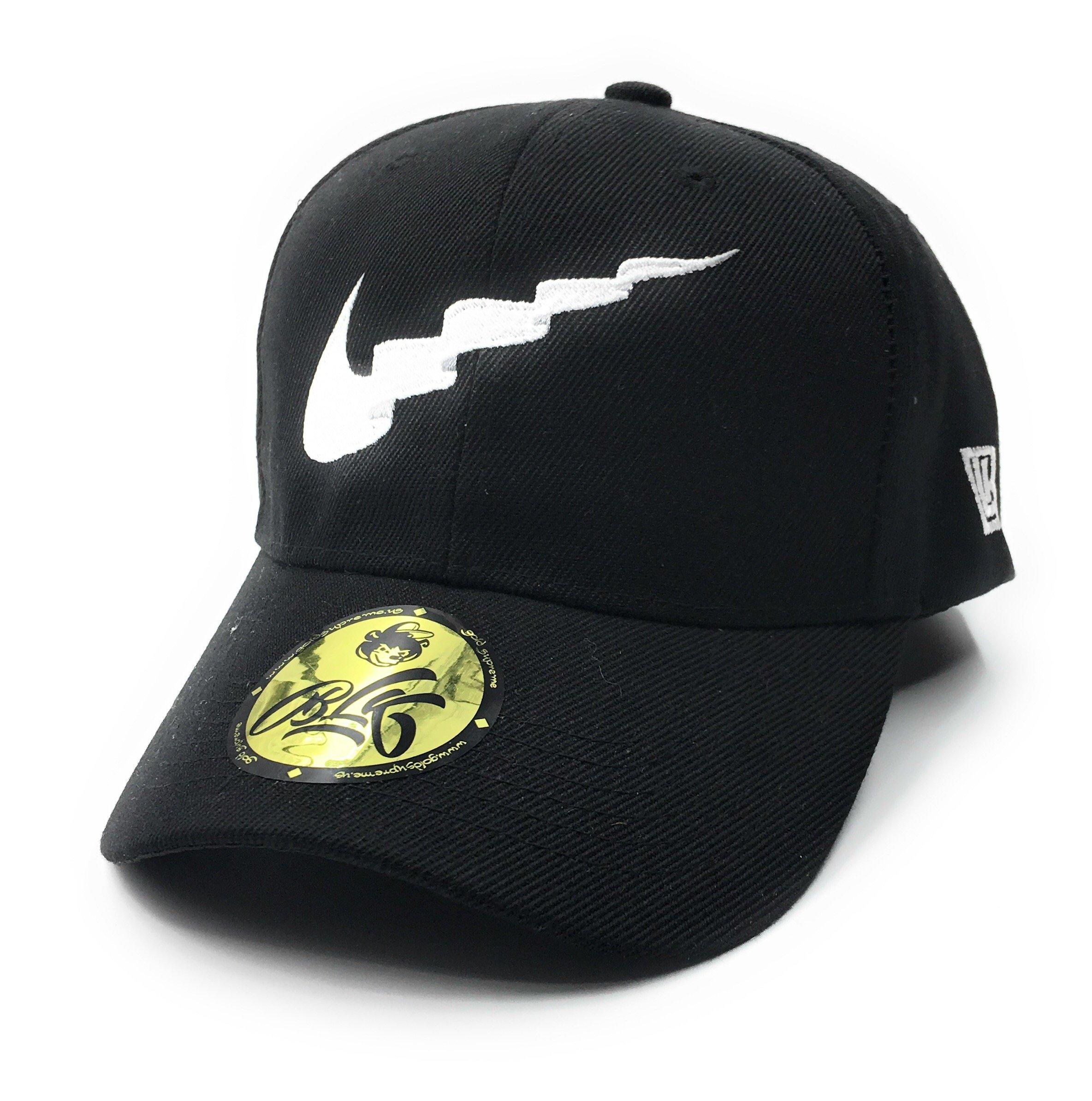 08bed08134e2c Galleon - B L K X Gold Supreme  Wavy Dad Hat - Black