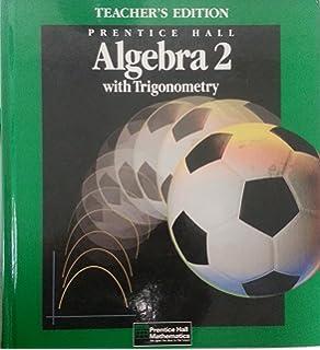 Amazon algebra 2 with trigonometry practice workbook prentice hall algebra 2 with trigonometry teachers edition fandeluxe Gallery