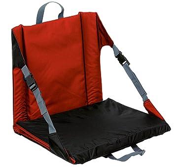 Terrific Amazon Com Outbound Lounge Lizard Plus Sport Seat Red Customarchery Wood Chair Design Ideas Customarcherynet