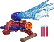 Lançador de Dardo Nerf Marvel Vingadores Guerra Infinita Tecnologia Assembler Gear Hasbro Vermelho/Azul/Laranja