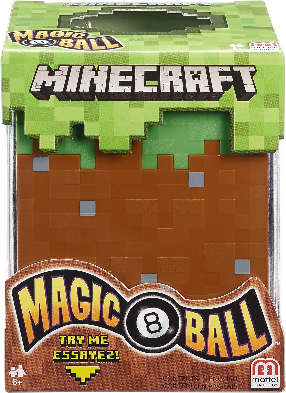 Minecraft Magic 8 Ball: Amazon.es: Juguetes y juegos
