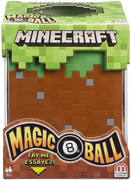 Amazon Com Mattel Games Minecraft Magic 8 Ball Toys Games